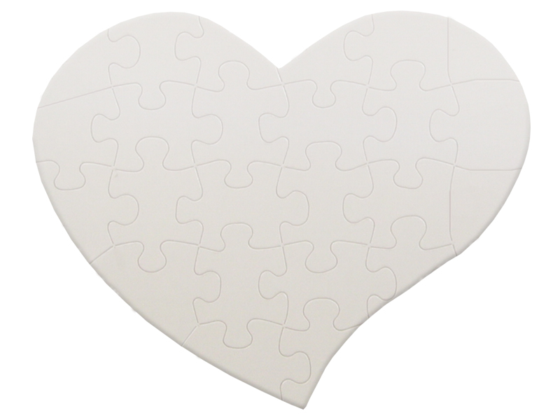 Puzzle small heart
